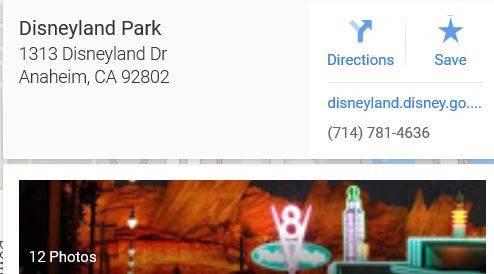Disneyland Address Secrets of Disney