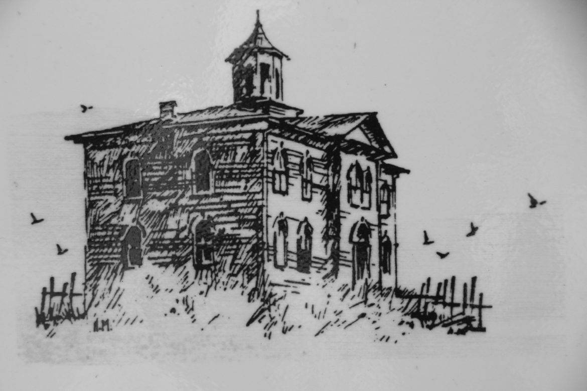 School house where the Birds was shot in Bodega Bay