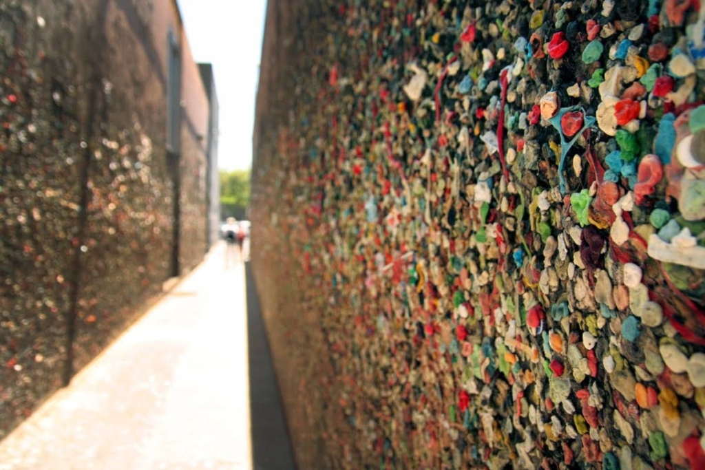 bubblegum wall in SLO