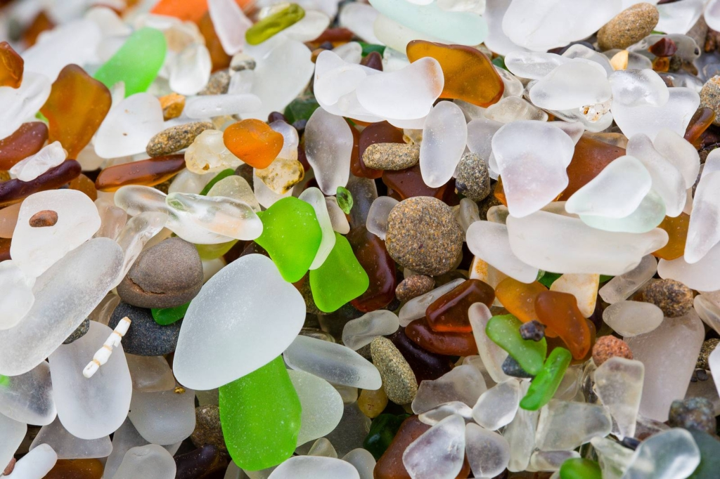 Glass Beach in Fort Bragg