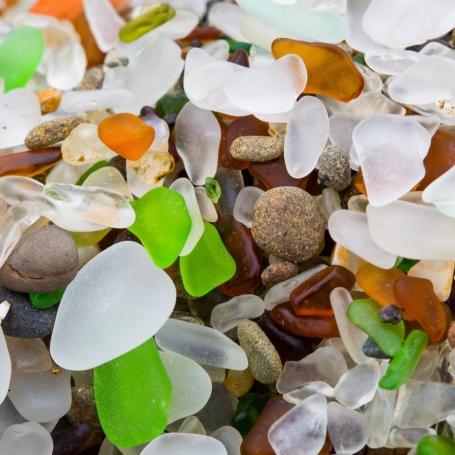 Glass Beach in Fort Bragg