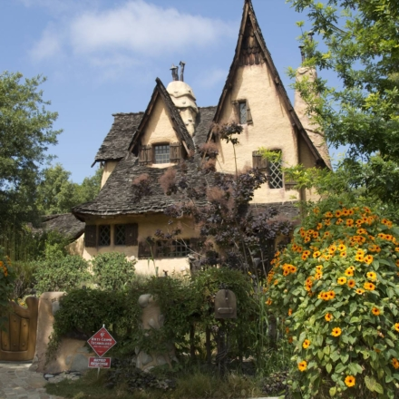 The Witch's House in Beverly Hills is a unique home that has been shot in several movies