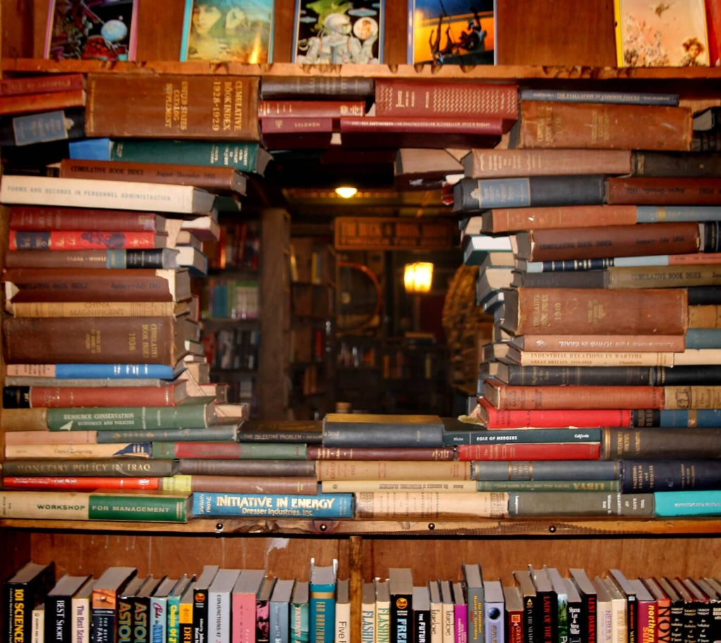 Visit one of the most unique bookstores in all of America. Located in Los Angeles, the Last Bookstore is a definite must-visit shop.