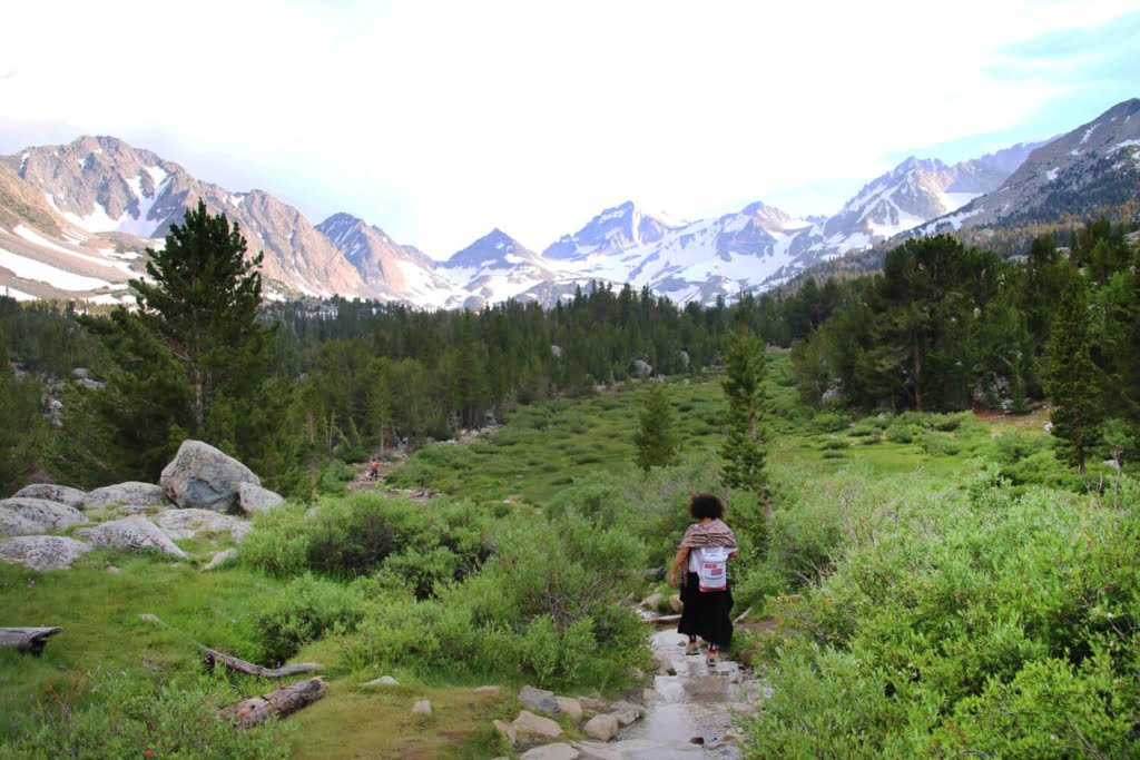 Little Lakes Valley Trail hidden ca