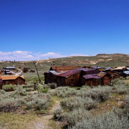 The Bodie Ghost Town in the Sierra Nevadas of Mono County is one of America's most historic & haunted ghost towns!