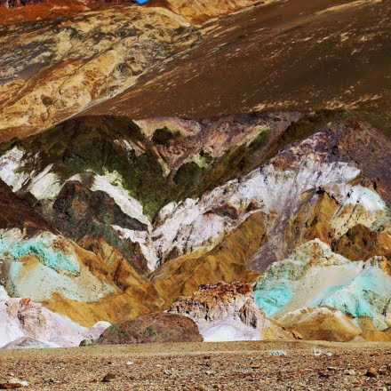 Artist's Drive & Palette in Death Valley