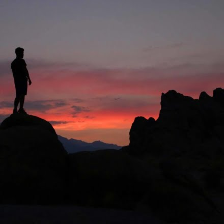 Since the early 1920s, 150 movies and about a dozen television shows have been filmed at Alabama Hills