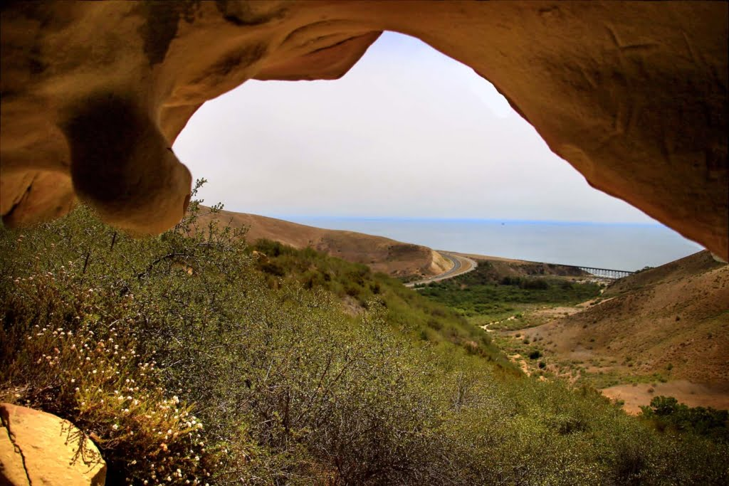 The Gaviota Wind Caves in Santa Barbara offer a unique, scenic hike high up in the hills. Explore ancient caves formed by high winds!