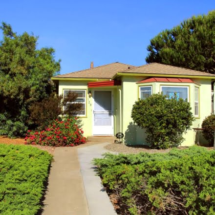 Stay at this adorable 1920's Bungalow in Lompoc while on vacation. Enjoy thick fog, great wineries and adorable touches throughout the town!