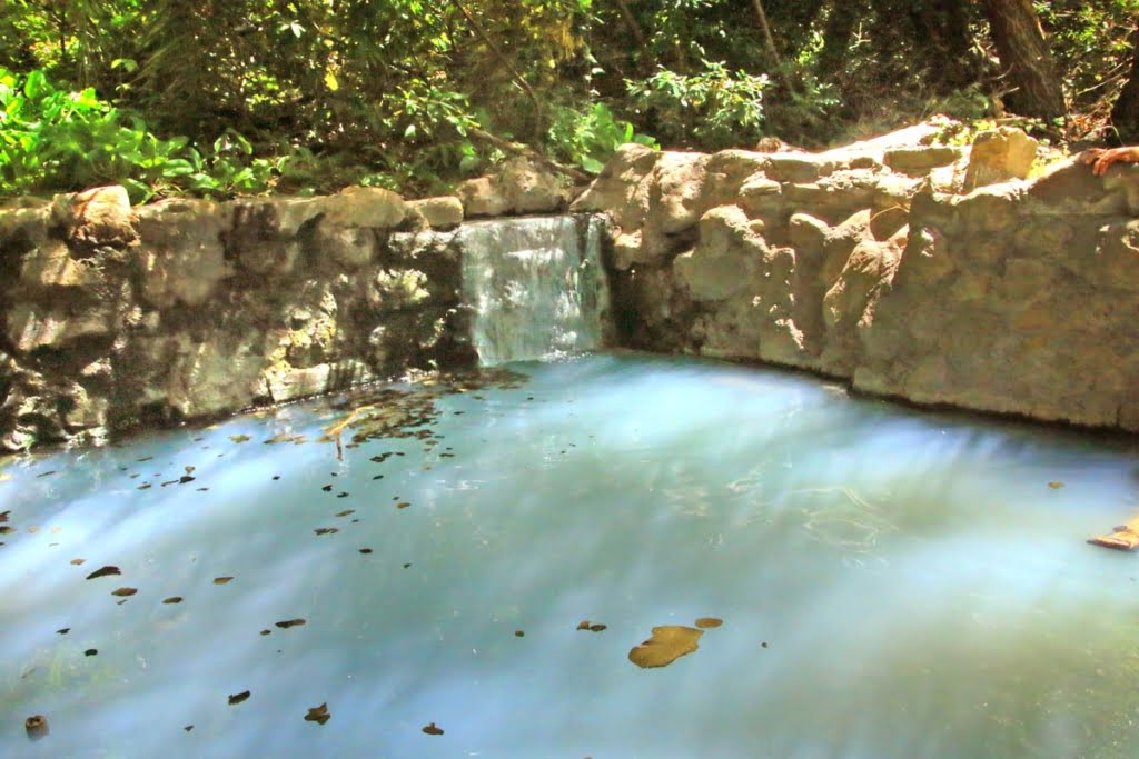 Gaviota Hot Springs, off the 101 freeway north of Ventura