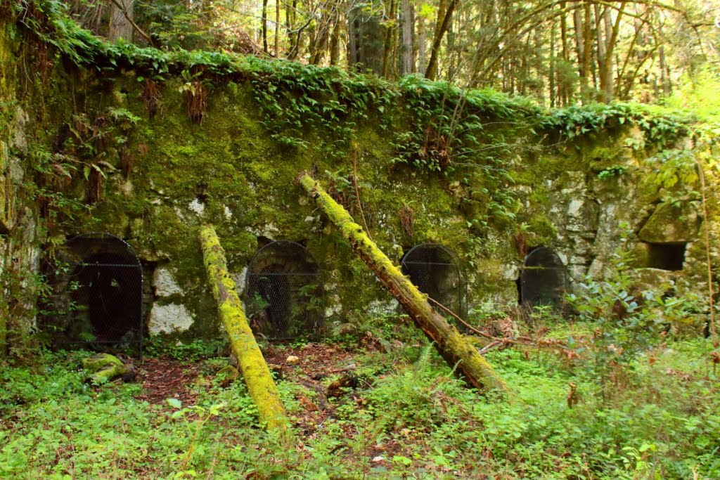 Tucked away in the Henry Cowell Redwoods State Park lays a piece Santa Cruz' crumbling history: the Pogonip Historic Limekilns.